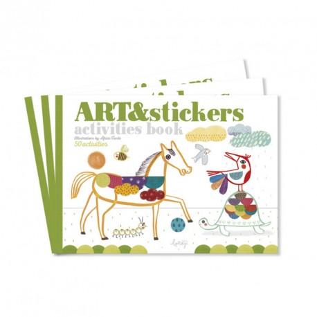 Art&Stickers - Llibre d'activitats
