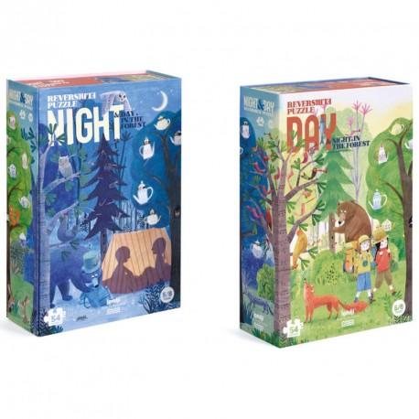 Puzzle Noche y Día - 54 pzas.