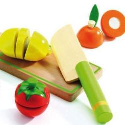 Frutas y vegetales para cortar