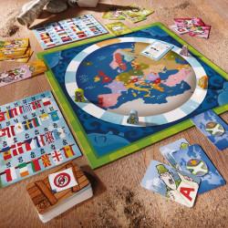 Los países de Europa - juego de conocimientos para 2-4 jugadores