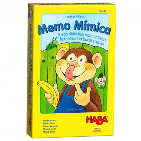 Memo Mímica - juego didáctico de muecas para 2-6 jugadores