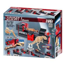 UNIMAT 1 Basic taller 4 en 1 - herramienta eléctrica para trabajar con madera y metales a partir de 8 años