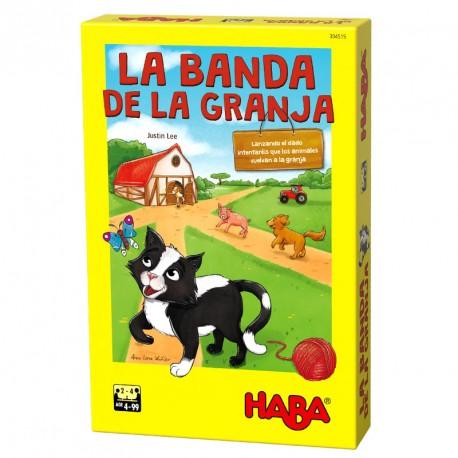 La banda de la granja - Joc de daus cooperatiu per a 2-4 jugadors