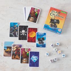 Isla Calavera - Juego de azar con cartas y dados para 2-5 jugadores