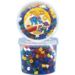 Hama Maxi 600 perlas grandes - 7 colores básicos