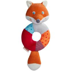 Sonajero Zorro Foxie -  juguete de tela