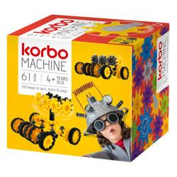 Korbo Machine 61 - juguete de construcción con engranajes