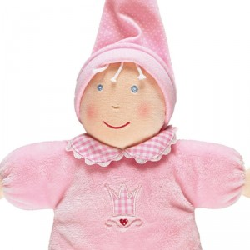 Mi primera muñeca rosa - muñeca de trapo bebé