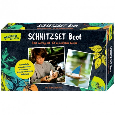 Kit haz tu barco de madera - Nature Zoom