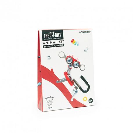 Kit Mono amb SuperTool Monkeybit - joguina de construcció amb peces de recanvi