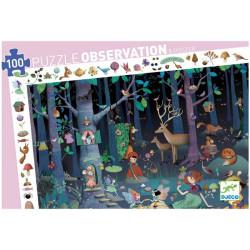 Puzzle observación Bosque Encantado - 100 pzas.
