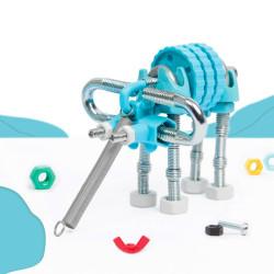 Kit Elefante 3 en 1con SuperTool Elephantbit - juguete de construcción con piezas de repuesto