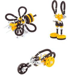 Kit Abeja 3 en 1con SuperTool Beebit - juguete de construcción con piezas de repuesto