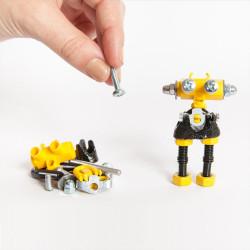 Kit Robot 3 en 1con SuperTool Infobit - juguete de construcción con piezas de repuesto