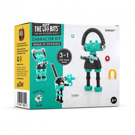 Kit Robot 3 en 1con SuperTool Bababit - juguete de construcción con piezas de repuesto
