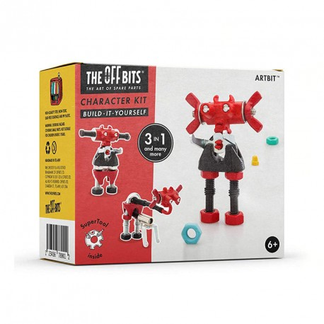 Kit Robot 3 en 1amb SuperTool Artbit - joguina de construcció amb peces de recanvi