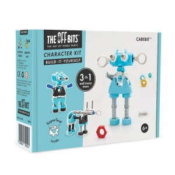Kit Robot 3 en 1con SuperTool Carebit - juguete de construcción con piezas de repuesto
