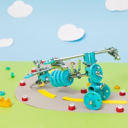 Kit Avión 3 en 1con SuperTool Airbit - juguete de construcción con piezas de repuesto