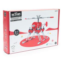 Kit Helicóptero 3 en 1con SuperTool Skybit - juguete de construcción con piezas de repuesto