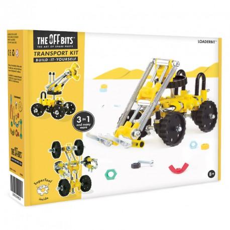 Kit Carretilla Elevadora 3 en 1con SuperTool Loaderbit - juguete de construcción con piezas de repuesto