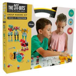 Taller The OFFBITS para el aula - juguete de construcción con piezas de repuesto