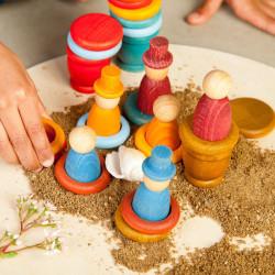 Aguamarina Verano - juego de madera colores del verano