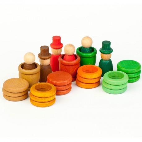 Aguamarina Tardor - joc de fusta colors de la tardor
