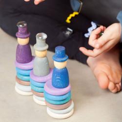 Aguamarina Invierno - juego de madera colores del invierno