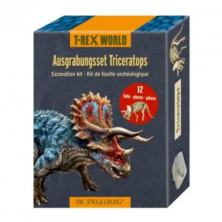 Kit de excavación arqueológica Triceratops - T-Rex World