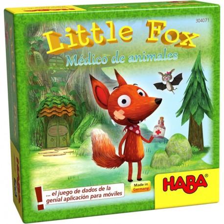 Little Fox médico de animales - juego de dados versión mini