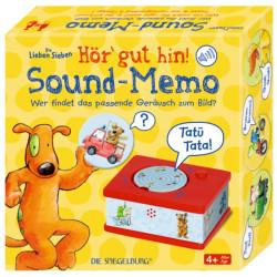 Memo de sonidos  Los 7 amiguitos - juego memoria con sonidos