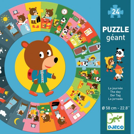 Puzzle gigante La Jornada - 24 pzas.