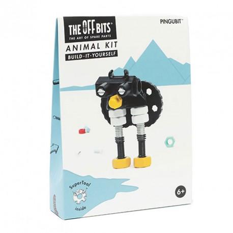 Kit Pingüí amb SuperTool Pengubit - joguina de construcció amb peces de recanvi