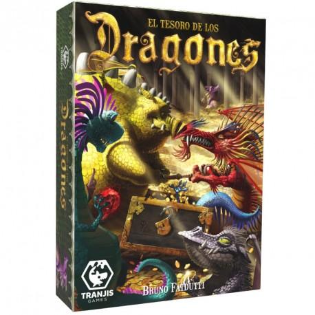 El tesoro de los Dragones- juego de recolección para 3-6 jugadores