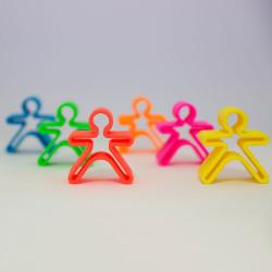 dëna Kids - 6 muñecos de silicona