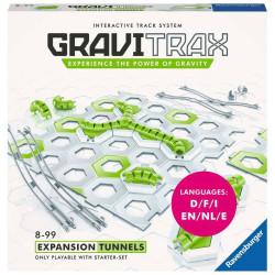 GraviTrax Expansión Túneles - pista de canicas interactiva