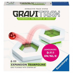 GraviTrax - Expansión Trampolín para pista de canicas interactiva