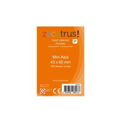 100 Fundas para cartas - Mini ASIA  (43 x 65 mm)