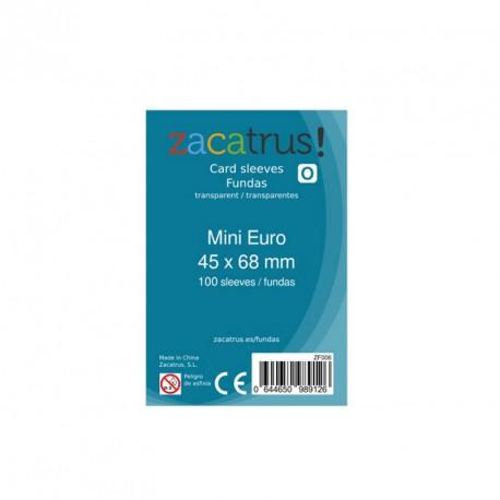 100 Fundes per a cartes - Mini EURO (45 x 68 mm)
