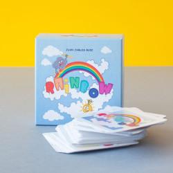 Rainbow - juego de cartas familiar para 2-4 jugadores