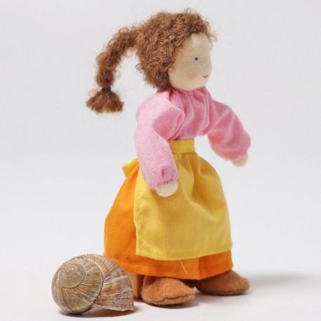 Mamá Alder - muñecos de tela para casa de muñecas