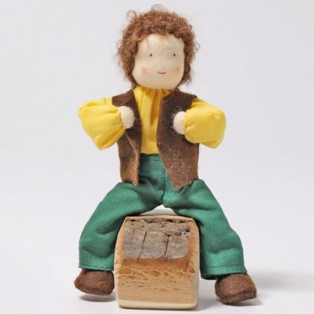 Papá Alder - muñecos de tela para casa de muñecas