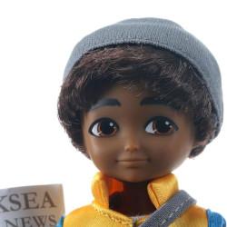 Muñeco Finn - Sammi el joven periodista