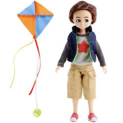 Muñeco Finn - El amigo de Lottie y su Cometa