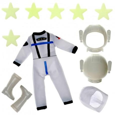 Conjunto de ropa para muñecas Lottie y Finn - Astronauta