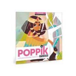 Mis puzzles de pegatinas - Princesas 35 pzas