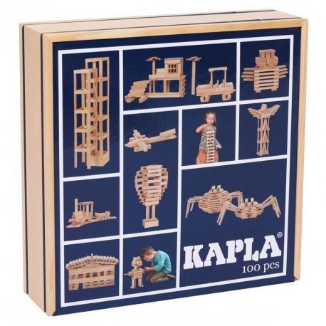 KAPLA 100 peces - Plaques de construccions de fusta