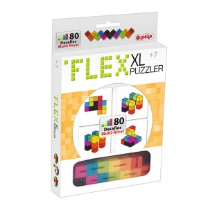 Flex Puzzler XL- Puzzle 2D y 3D multinivel