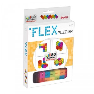 Flex Puzzler - Puzzle 2D y 3D multinivel