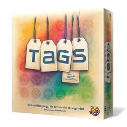 Tags - frenético juego para 2-4 jugadores o equipos